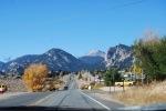 Drive through Estes Park