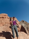 Red Rocks to climb on at Garden of the Gods