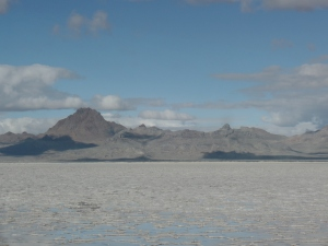 Great Salt Lake Desert- I found this beautiful