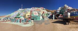 panorama of Salvation Mountain