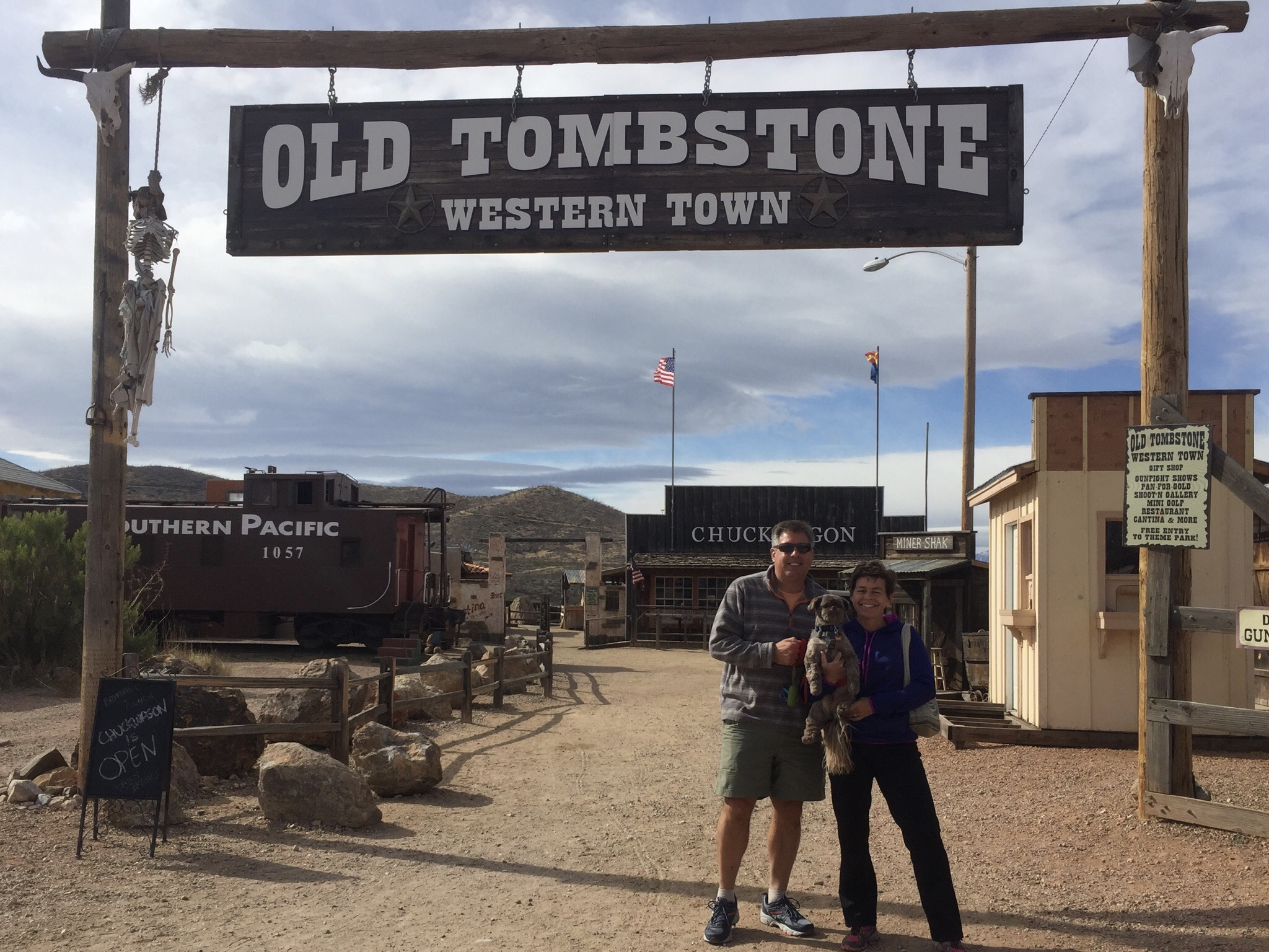 Tombstone arizona gizmogoeswest it was a windy day and this only added to the ambience of the town the wind was whipping up the old dirt main street and made it feel like we walking publicscrutiny Image collections
